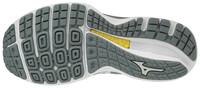 Mizuno Wave Sky Knit 3 Unisex Koşu Ayakkabısı Gri/Beyaz - Thumbnail