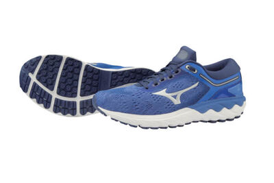 Mizuno Wave Skyrise Kadın Koşu Ayakkabısı Lacivert