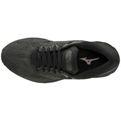Mizuno Wave Sky Rise (W) Kadın Koşu Ayakkabısı Siyah/KoyuGri